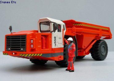 Sandvik TH550 articulated Underground Truck