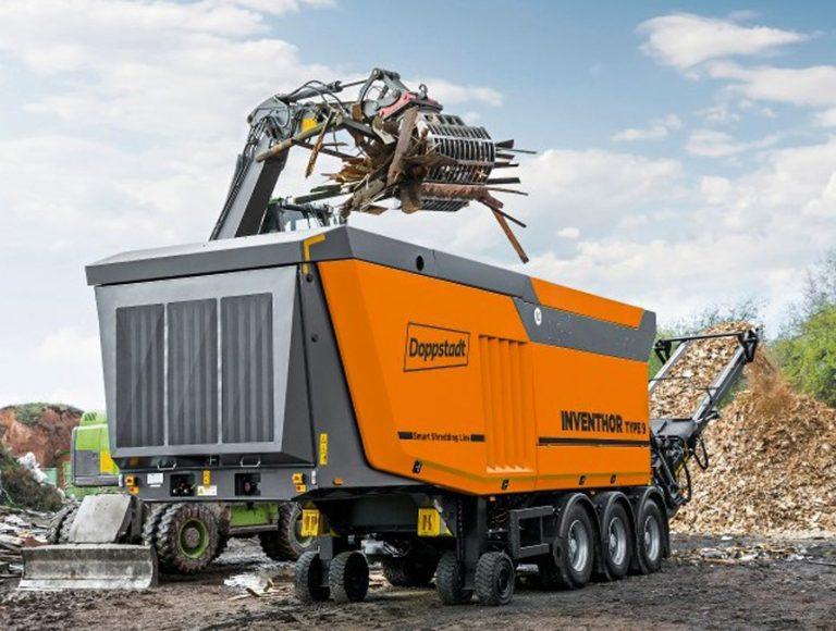 Doppstadt Inventhor Type 9 slow speed shredder line