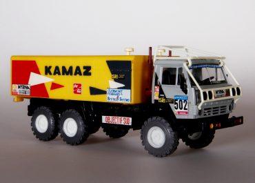 КамАЗ-С4310 №502 6х6 спортивный грузовой автомобиль для ралли-марафона Objective Sud-Цель юг