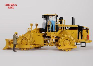Caterpillar 825H articulated soil compactor