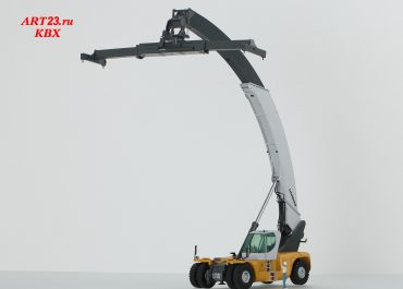 Liebherr LRS 645 Litronic Container stackers