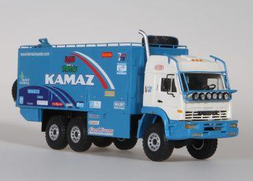 КамАЗ-635050 №662 6х6 мобильная мастерская сопровождения ралли «Телефоника Дакар-2004»
