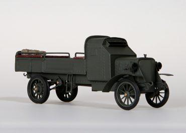 Руссо-Балт М24/40 HP полубронированный «автомобиль – зарядный ящик» для перевозки снарядов