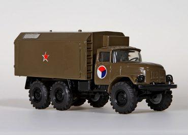 MC1-131 штабная специальная машина кадровых органов с кузовом K4.131 на шасси ЗиЛ-131 6х6