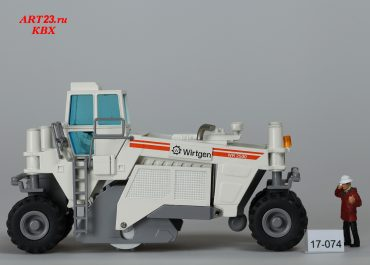 Wirtgen WR 2500 wheeled recycler-stabilizer