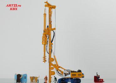 Bauer BG 24H, Base Sennebogen BT 75, Drilling Rig