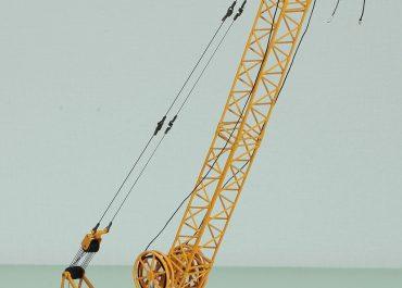 Liebherr HS843HD Litronic hydraulic crawler crane