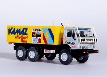 КамАЗ-С4310 №503 6х6 спортивный грузовой автомобиль для ралли-марафона Objective Sud-Цель юг