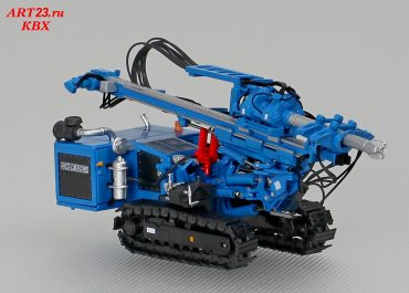 Hutte HBR 605-3B crawler drill rig