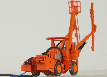 Tamrock H 207B wheel drilling rig