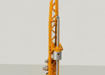 Bauer BG6 «Himmel & Papesch» crawler installation for equipment for pile driver on the base excavator O&K RH9
