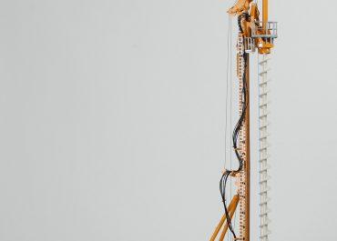 Bauer BG40 on the base Sennebogen BS100 piling- Drilling Rig
