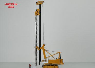Bauer BG50, system SOB, auger drill attachment CFA