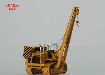 Liebherr RL 52 Litronic crawler pipelayer