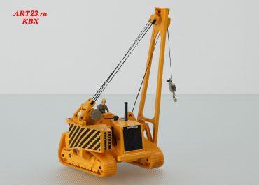 Caterpillar 591 crawler pipelayer