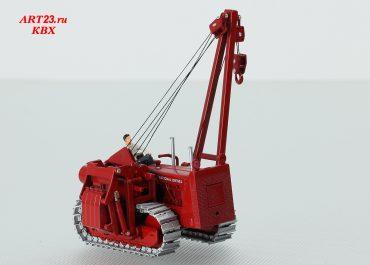 International-Harvester TD-24 crawler pipelayer