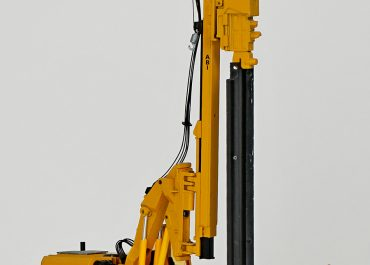 ABI RE 12/14300 Piling Rig on the base excavator Zeppelin ZR28T