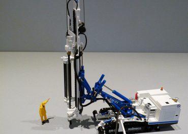 Soilmec SM-21 crawler drill rig