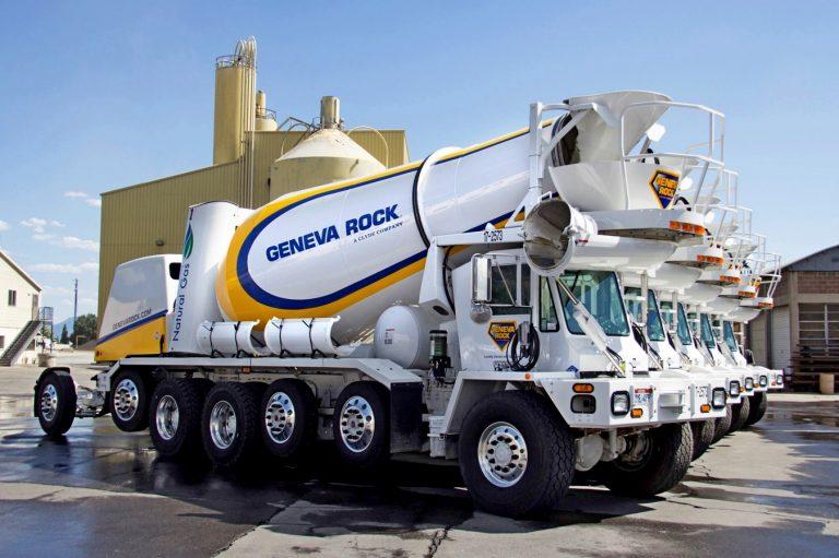 Oshkosh S-Series truck mixer