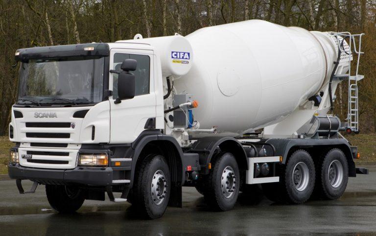CIFA SL9 truck mixer