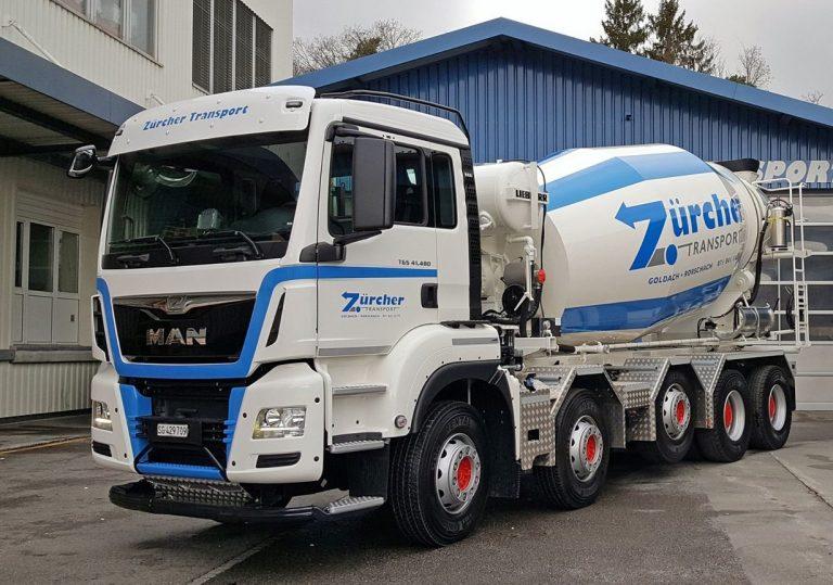 Liebherr HTM1204 truck mixer