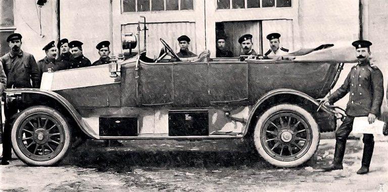 Пузырев А-28/40HP автомобиль с кузовом дубль фаэтон