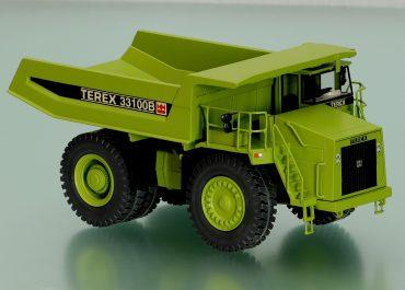 Terex 33100B/TR100 Mining Truck