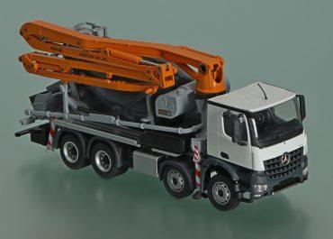CIFA MK28L Magnum truck-mounted concrete pump