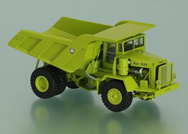 Euclid R-35 74TD off-road Mining Truck