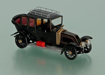 Рено, Renault 40CV модель 1912 год автомобиль из гаража Николая II с кузовом ландоле-лимузин фирмы «Кельнер и сыновья, Париж»