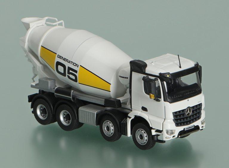 Liebherr HTM 905 Generation 05 truck mixer