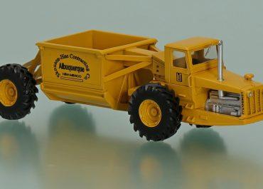LeTourneau Westinghouse Turnapull Model C «Albuquerque» New Mexico Mining Truck