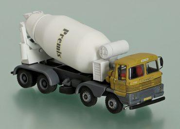 Scammell Routeman III 8х4 truck mixer