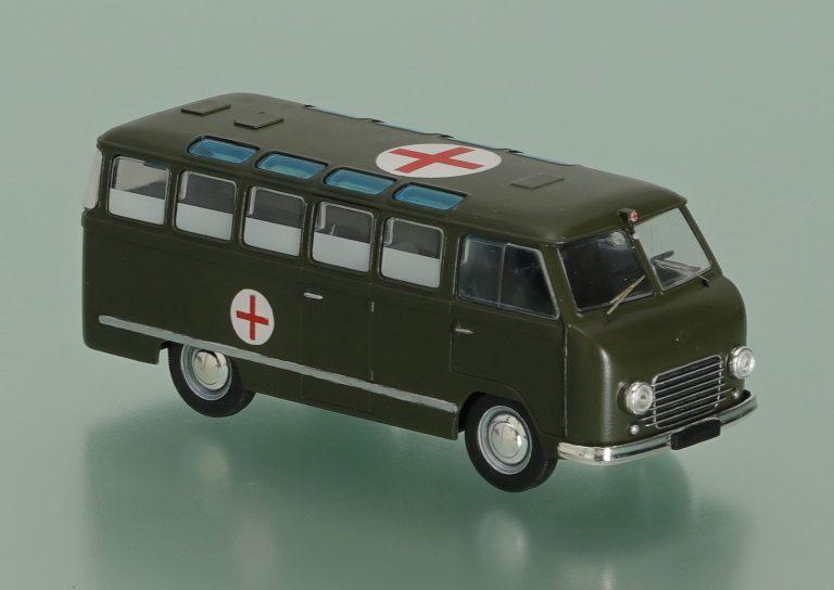 РАФ-977В (РАФ-977С)опытный армейский санитарный автобус