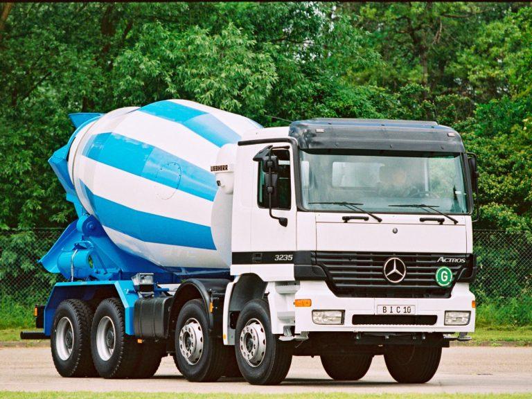 Liebherr HTM904 truck mixer