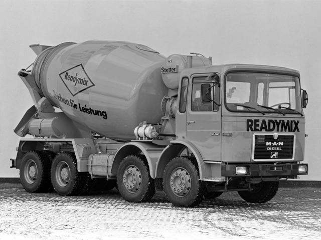 Stetter AM-9FHN «Readymix» truck mixer