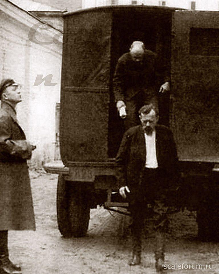 ГАЗ-АА автофургон НКВД СССР для перевозки заключенных