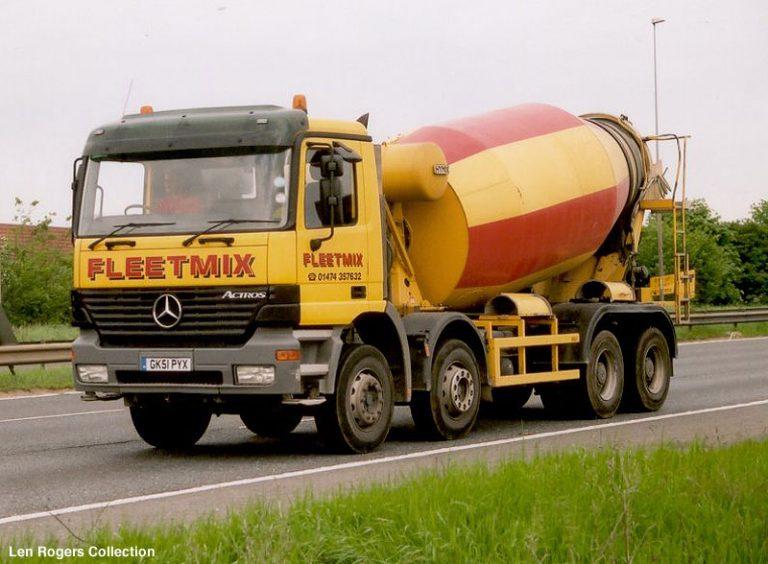 Stetter AM 9 FHC «Stetter's №50000» truck mixer