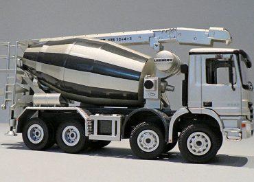 Liebherr HTM 804 truck mixer