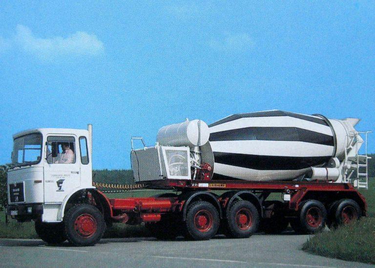 Liebherr HTM 1001 «Redland» 2-axle semi-trailer-truck mixer