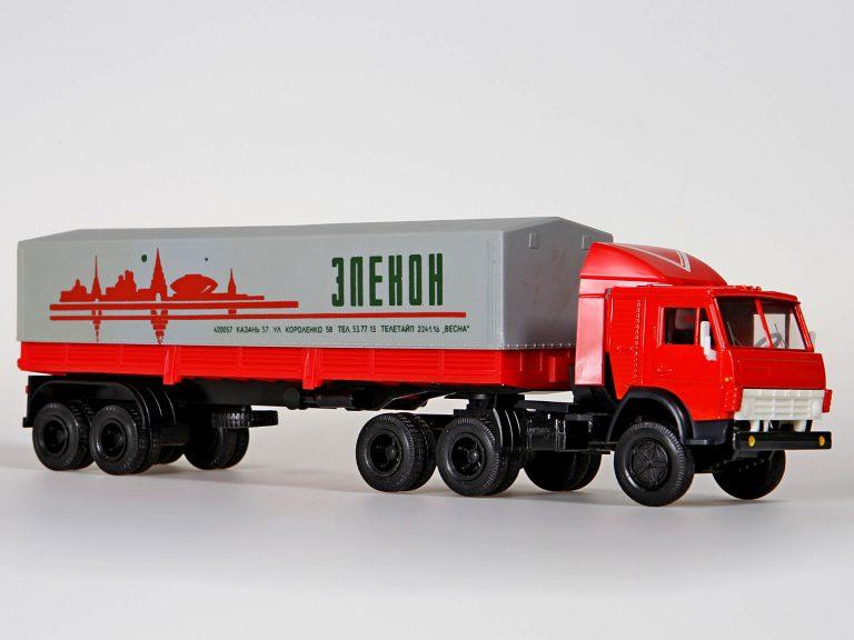 КамАЗ-5410 седельный тягач с полуприцепом ОдАЗ-9370 (КЗАП-9370)