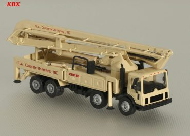 Schwing S47SX/2525H-6 «FLA. Concrete Unlimited Inc.» truck-mounted concrete pump with boom