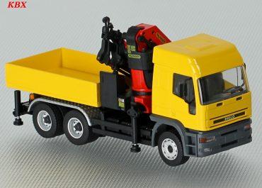 IVECO EuroTech 740E42T truck tractor and crane Palfinger PK53002 SH
