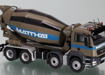 Liebherr HTM 904 «Matthai» truck mixer