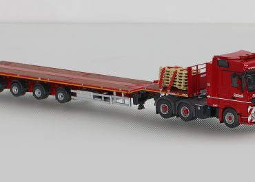 Mercedes-Benz Actros 3350S MP3 Megaspace truck tractor with semi-trailer Nooteboom OVB-65-04V