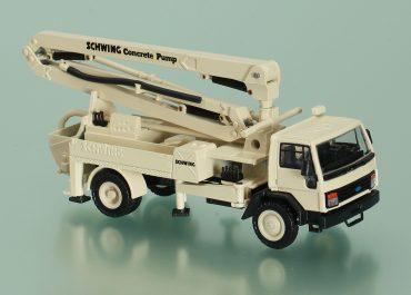 Schwing BPL 600 HD KVM 23 truck-mounted concrete pump