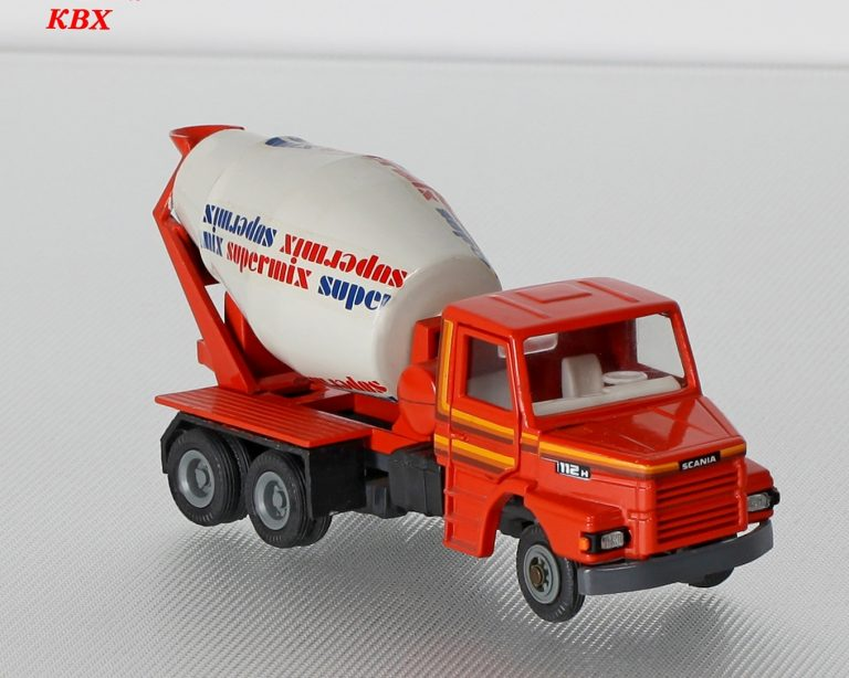 Scania T112H truck mixer