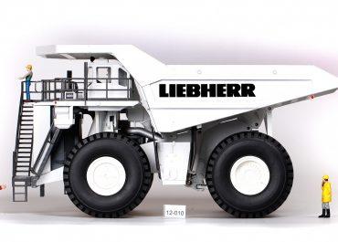 Liebherr T 282B Mining off-road diesel-electric Truck