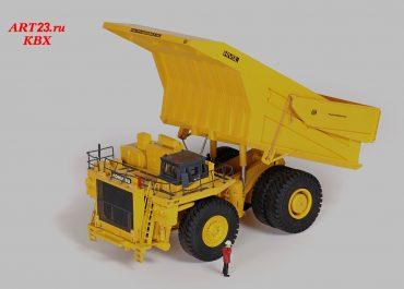 Komatsu 830E Mining off-road electric drive Truck