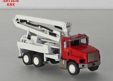 Schwing BPL 600 HD KVM 23 «Bard Concrete» truck-mounted concrete pump